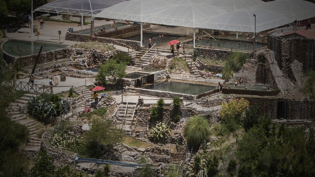 The new Cacheuta Hot Springs water park.