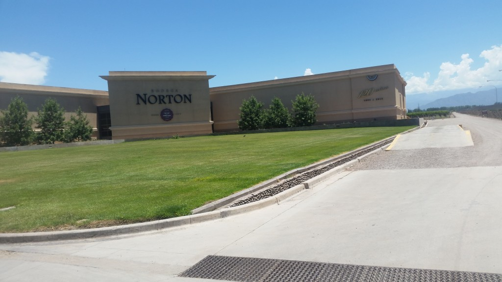 Norton and Chandon seemed to be the two largest bodegas in the area.