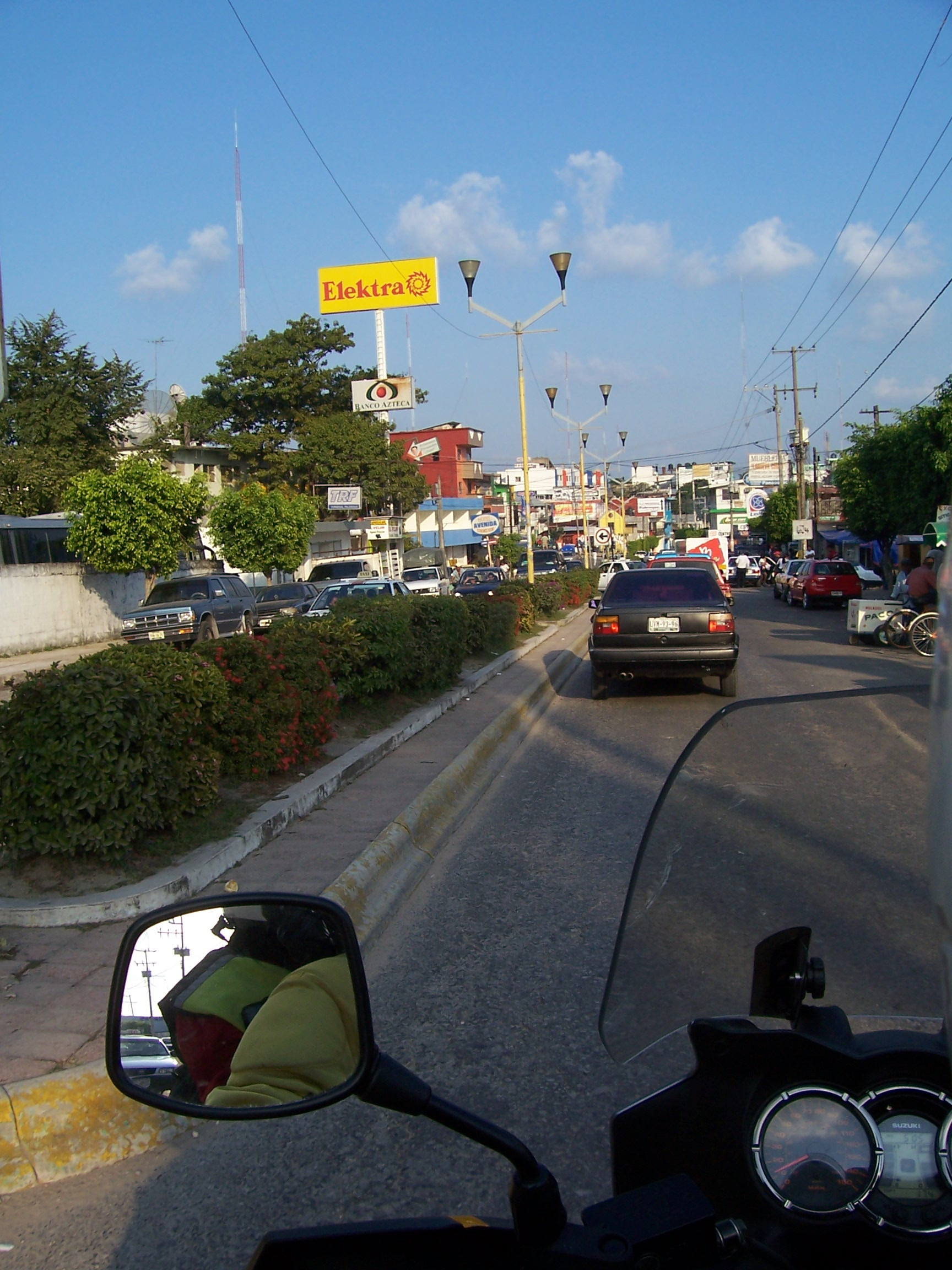 Arriving Into Palenque City